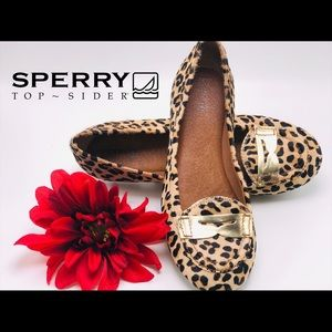 Sperry Shoes - SPERRY-Cheetah print penny loafers